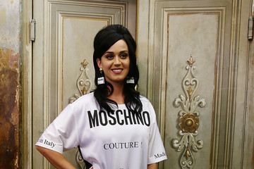 Katy Perry 'Moschino' Men's Backstage Spring/Summer 2016 During the 88 Pitti Uomo