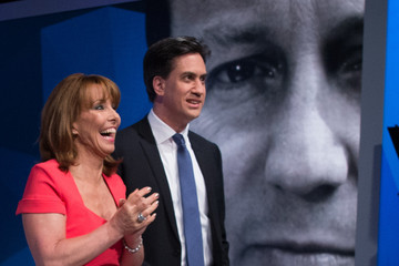 Kay Burley David Cameron and Ed Miliband Take Part in TV Q&A
