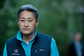 Kazuo Hirai Annual Allan And Co. Investors Meeting Draws CEO's And Business Leaders To Sun Valley, Idaho