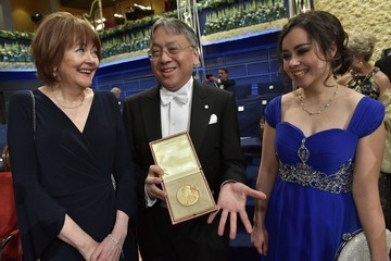 Kazuo Ishiguro The Nobel Prize Award Ceremony 2017