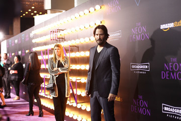 Keanu Reeves Premiere of Amazon's 'The Neon Demon' - Arrivals
