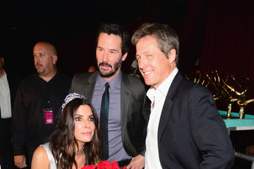 """Keanu Reeves Hugh Grant Spike TV's """"Guys Choice 2014"""" - Backstage And Audience"""