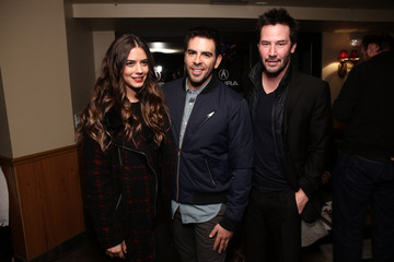 """Keanu Reeves Lorenza Izzo """"Knock Knock"""" Party At The Acura Studio - 2015 Park City"""
