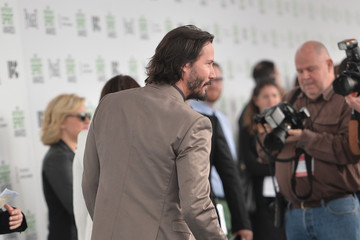 Keanu Reeves 2014 Film Independent Spirit Awards - Arrivals