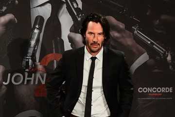 Keanu Reeves Keanu Reeves Attends a Photo Call for the Film 'John Wick Chapter 2' in Berlin