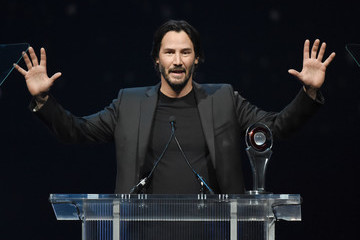 Keanu Reeves CinemaCon 2016 - The CinemaCon Big Screen Achievement Awards Brought To You By The Coca-Cola Company - Show