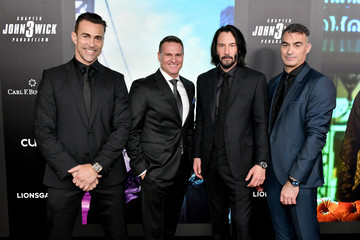 Keanu Reeves Time For The Big Screen: Carl F. Bucherer Celebrates Premiere Of 'John Wick: Chapter 3 - Parabellum' - Premiere