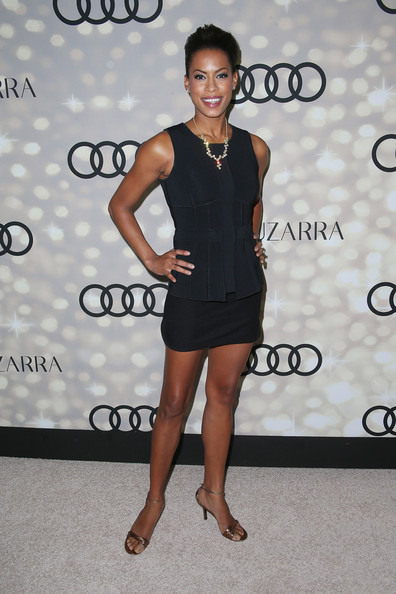 Kearran Giovanni Pictures Arrivals At The Emmy Kick Off