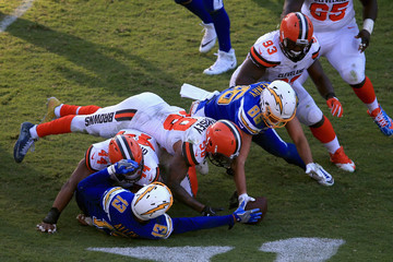 Keenan Allen Cleveland Browns vLos Angeles Chargers