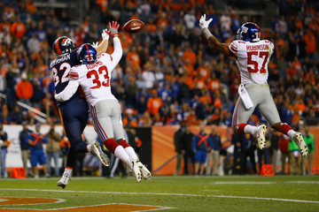 Keenan Robinson New York Giants v Denver Broncos