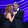 Andrea Bocelli and Celine Dion