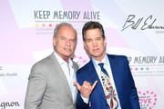 (L-R) Kelsey Grammer and Chris Isaak attend the 24th annual Keep Memory Alive 'Power of Love Gala' benefit for the Cleveland Clinic Lou Ruvo Center for Brain Health at MGM Grand Garden Arena on March 07, 2020 in Las Vegas, Nevada.
