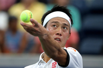 Kei Nishikori 2019 US Open - Day 3