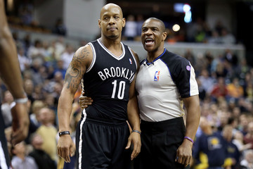 Keith Bogans Brooklyn Nets v Indiana Pacers