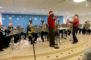 Keith Lockhart Boston Pops 11th Annual Holiday Performance at Boston Children's Hospital