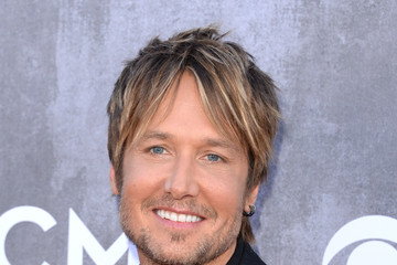 Keith Urban Arrivals at the Academy of Country Music Awards — Part 2