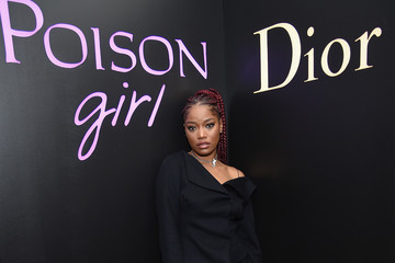 Keke Palmer Dior Beauty Hosts NY Poison Club With Camille Rowe