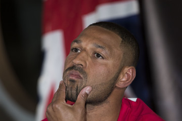 Kell Brook Kell Brook & Errol Spence Press Conference