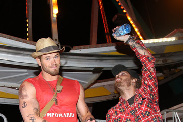 Kellan Lutz NYLON And Olay Fresh Effects Present Neon Carnival With GUESS