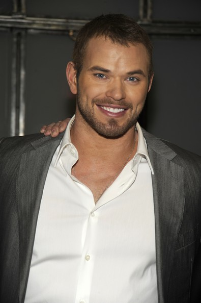 Kellan Lutz - Simon Spurr - Backstage - Fall 2012 Mercedes-Benz Fashion Week