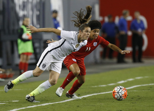 2016 SheBelieves Cup - United States v England