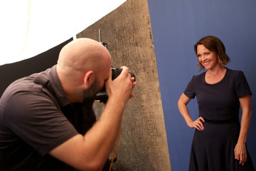 Kelli Williams Behind The Scenes Of The Getty Images Portrait Studio Powered By Samsung Galaxy At 2015 Summer TCA's