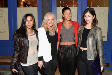 Kelly Barrett Hannah Bronfman And GREY GOOSE Vodka Host Exclusive Dinner Experience At The Boulangerie Picardie