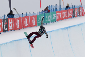 Kelly Clark FIS Snowboard World Cup 2016/17 - Halfpipe Finals