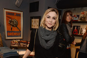 Samaire Armstrong attends the Kelly Cole Winter 2013/2014 Collection Launch Benefitting Art of Elysium at Kelly Cole Flagship Store on December 5, 2013 in Los Angeles, California.