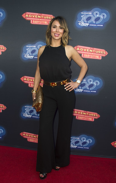 Kelly Dodd Photos Photos Premiere Of 100th Disney Channel Original Movie Adventures