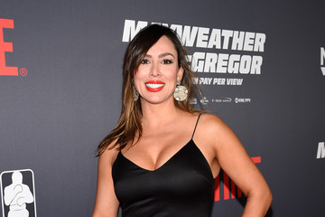 Kelly Dodd SHOWTIME, WME|IMG, and MAYWEATHER PROMOTIONS VIP Pre-Fight Party Arrivals on the T-Mobile Magenta Carpet for Mayweather VS McGregor