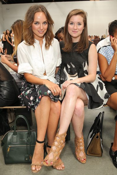 Yigal Azrouel - Front Row - Mercedes-Benz Fashion Week Spring 2015