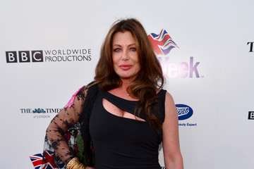 Kelly LeBrock Arrivals at the BritWeek Launch Party