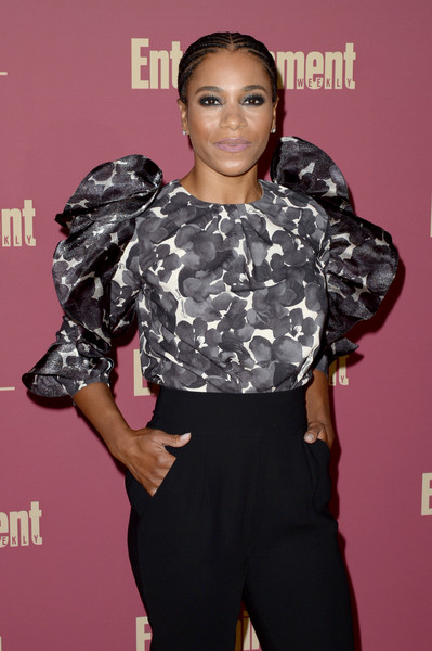 Entertainment Weekly And L'Oreal Paris Hosts The 2019 Pre-Emmy Party - Arrivals [clothing,hairstyle,beauty,fashion,shoulder,red carpet,carpet,joint,black hair,flooring,arrivals,kelly mccreary,l\u00e2,sunset tower hotel,entertainment weekly,loreal paris hosts,party,tmoreal paris,pre-emmy party]