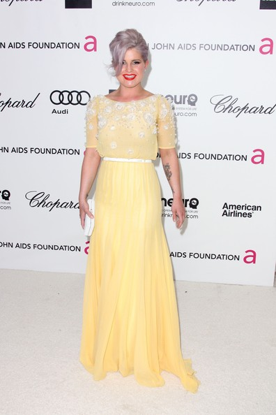 Kelly Osbourne TV personality Kelly Osbourne arrives at the 20th Annual Elton John AIDS Foundation's Oscar Viewing Party held at West Hollywood Park on February 26, 2012 in West Hollywood, California.