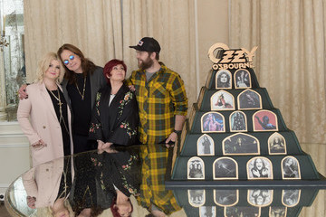 Kelly Osbourne Sharon Osbourne Ozzy Osbourne Announces 'No More Tours 2' Final World Tour at Press Conference at His Los Angeles Home