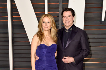 Kelly Preston Arrivals at the Elton John AIDS Foundation Oscars Viewing Party — Part 5