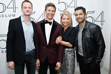 Kelly Ripa David Burtka At 54 Below