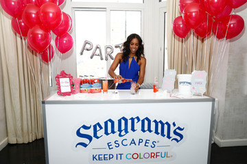Kelly Rowland Seagram's Escapes and Kelly Rowland Signature Flavors Launch Event