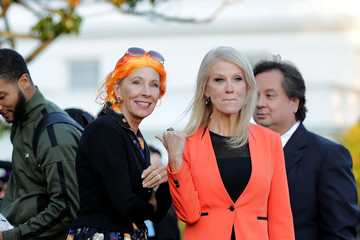 Kellyanne Conway President Trump and First Lady Host Halloween at the White House