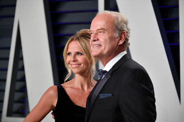 Kelsey Grammer Kayte Walsh 2019 Vanity Fair Oscar Party Hosted By Radhika Jones - Arrivals