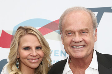 Kelsey Grammer Kayte Walsh Steven Tyler's 2nd Annual Grammy Awards Viewing Party To Benefit Janie's Fund Presented By Live Nation - Red Carpet