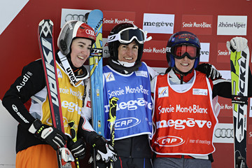 Kelsey Serwa Anna Woerner Men and Women's Freestyle Ski Cross - FIS World Cup