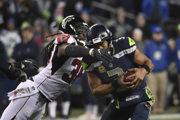 Kemal Ishmael Atlanta Falcons v Seattle Seahawks