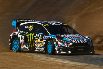 Ken Block FIA World Rallycross Championship - Barcelona