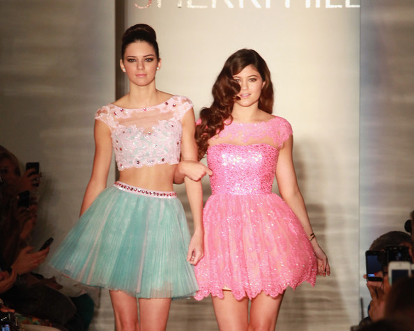 Kendall and Kylie Jenner Modeling