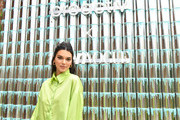 """Kendall Jenner joins Proactiv and Teen Vogue at """"Paint Positivity: Because Words Matter"""" event at Wythe Hotel on June 20, 2019 in Brooklyn, New York."""