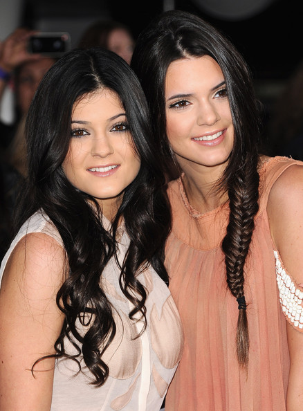 "Kendall Jenner TV personalities Kylie Jenner and Kendall Jenner arrive at the Premiere of Summit Entertainment's ""The Twilight Saga: Breaking Dawn - Part 1"" at Nokia Theatre L.A. Live on November 14, 2011 in Los Angeles, California."
