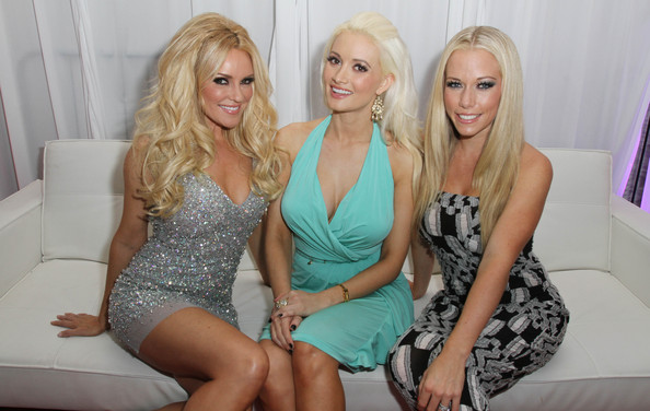 Kendra Wilkinson Holly Madison Bridget Marquardt L R
