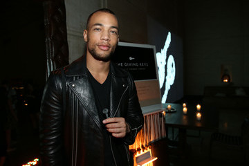 Kendrick Sampson The Giving Keys Celebrates the Launch of Their New Matte Black Key Necklace